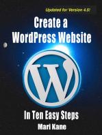 Create a WordPress Website in Ten Easy Steps