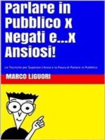 Parlare in Pubblico per Negati...e x Ansiosi