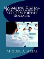Marketing Digital. Posicionamiento SEO, SEM y Redes Sociales
