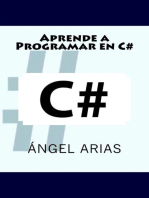 Aprende a programar en C#
