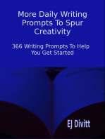 More Daily Writing Prompts To Spur Creativity
