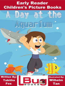 A Day at the Aquarium: Early Reader - Children's Picture Books