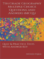 7th Grade Geography MCQs