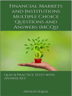 Financial Markets and Institutions Multiple Choice Questions and Answers (MCQs)