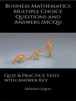 Business Mathematics MCQs