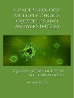 Grade 9 Biology Multiple Choice Questions and Answers (MCQs): Quizzes & Practice Tests with Answer Key (9th Grade Biology Worksheets & Quick Study Guide)