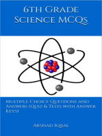 6th Grade Science MCQs: Multiple Choice Questions and Answers (Quiz & Tests with Answer Keys)