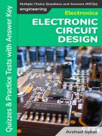 Electronic Circuit Design MCQs