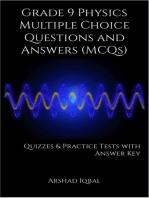 9th Grade Physics MCQs