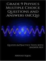 Grade 9 Physics Multiple Choice Questions and Answers (MCQs): Quizzes & Practice Tests with Answer Key (9th Grade Physics Worksheets & Quick Study Guide)