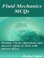 Fluid Mechanics MCQs