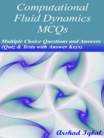 Computational Fluid Dynamics MCQs
