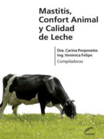 Mastitis, confort animal y calidad de leche