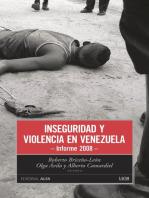 Inseguridad y violencia en Venezuela: Informe 2008