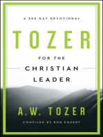 Tozer for the Christian Leader: A 365-Day Devotional
