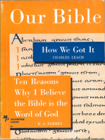 Our Bible