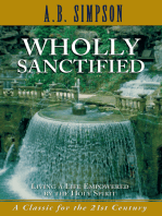 Wholly Sanctified