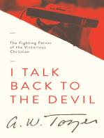 I Talk Back to the Devil