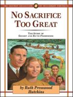 No Sacrifice Too Great