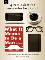 4 Reminders for Men Who Love God