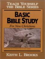 Basic Bible Study-Teach Yourself the Bible Series