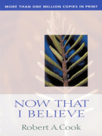 Now That I Believe