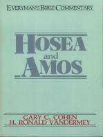 Hosea & Amos- Everyman's Bible Commentary