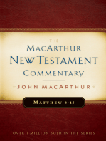 Matthew 8-15 MacArthur New Testament Commentary