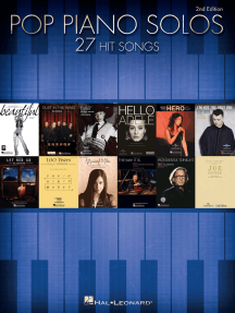 Pop Piano Solos - 2nd Edition: 27 Hit Songs