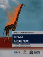 Jirafa ardiendo