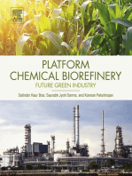 Platform Chemical Biorefinery: Future Green Chemistry