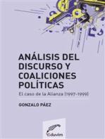 Análisis del discurso y coaliciones políticas