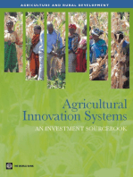 Agricultural Innovation Systems: An Investment Sourcebook