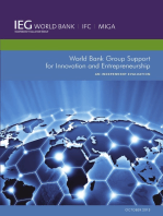 World Bank Group Support for Innovation and Entrepreneurship: An Independent Evaluation