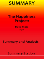 The Happiness Project | Summary