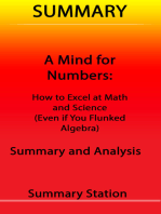 A Mind for Numbers | Summary