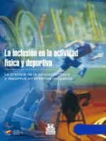 La inclusión en la actividad física y deportiva (Bicolor)