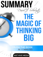 David J. Schwartz's The Magic of Thinking Big | Summary