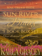 Mail Order Bride - Sun River Brides 9 book Box Set (Clean Historical Western Romance)