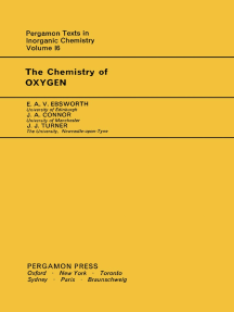 The Chemistry of Oxygen: Pergamon Texts in Inorganic Chemistry
