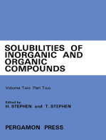 Ternary and Multicomponent Systems