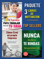Paquete 3 Libros de Motivación