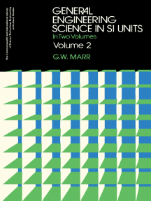 General Engineering Science in SI Units: In Two Volumes