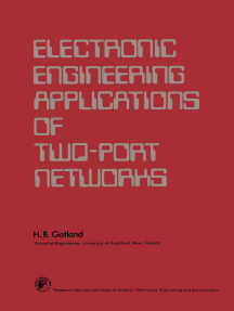 Electronic Engineering Applications of Two–Port Networks: Applied Electricity and Electronics Division
