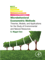Microbehavioral Econometric Methods: Theories, Models, and Applications for the Study of Environmental and Natural Resources