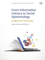 From Information Literacy to Social Epistemology: Insights from Psychology