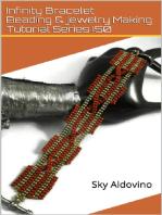 Infinity Bracelet Beading & Jewelry Making Tutorial Series I50