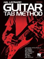 Hal Leonard Guitar Tab Method