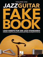 Jazz Guitar Fake Book - Volume 1
