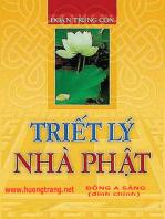 Triết lý Nhà Phật.